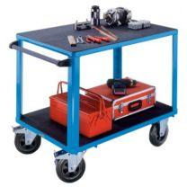 Montagewagen, 2 Ladeflächen aus Kunststoff