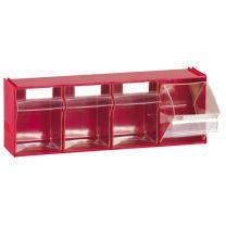 Acryl-Klappboxen Fox 104 4-er Reihe