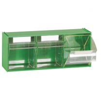 Acryl-Klappboxen Fox 105 3-er Reihe