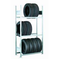 Reifen-Grund-Regal 2000x1300x400 mm