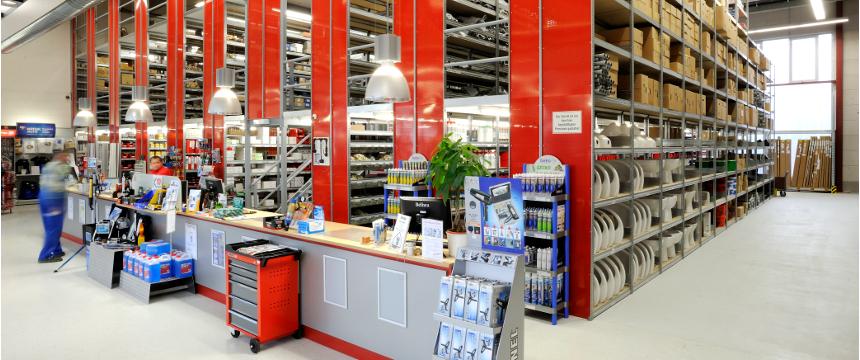 Transparent Lagertechnik - Online-Shop
